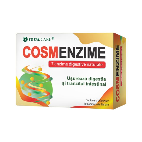 Cosm Enzime Total Care 30 cpr filmate